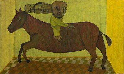 Salah Elmur, 'A Horse from Tinplate / حصان من صفيح', 2019