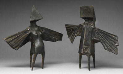 Lynn Chadwick, 'Maquette II, Two Winged Figures ', 1973