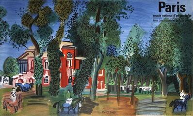 Raoul Dufy, 'Paddock-Deauville', 1960