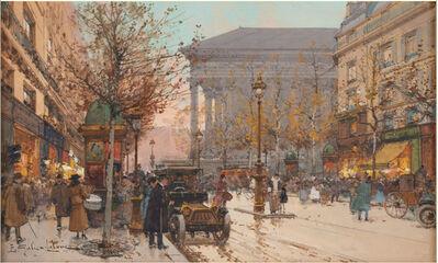 Eugène Galien-Laloue, 'Vue animée de Paris', NA