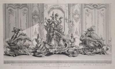 Juste-Aurèle Meissonnier, 'Projet de sculpture en argent d'un grand surtout de table et les deux terrines qui ont et' execut'e pour le millord duc de Kinston en 1735', 1742