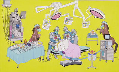 Nancy Chunn, 'Scene VII: The ER, Detail: Humpty dumpty in surgery ', 2007-2008