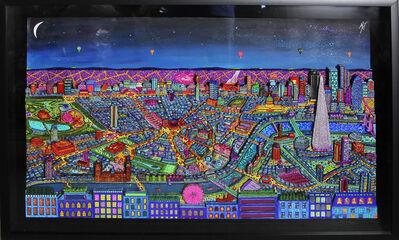 Johann Perathoner, 'London by night', 2016