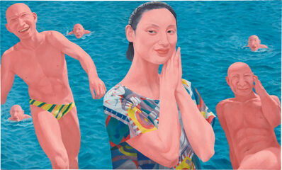 Fang Lijun, 'Series 2 No.10', 1992-1993