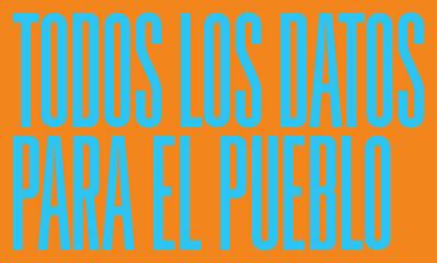 SUPERFLEX, 'Todos los Datos para el Pueblo', 2019