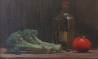 Jacob Collins, 'Tomato, Broccoli, Olive Oil', 1994