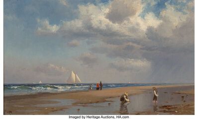 Francis Augustus Silva, 'By the Sea'
