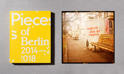 Florian Reischauer, ''Pieces of Berlin 2014-2018' limited edition - book signed + 'Alles ist möglich' C-Print, Ed. of 3', 2018