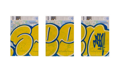 SEEN, 'Bubble Triptych', not known