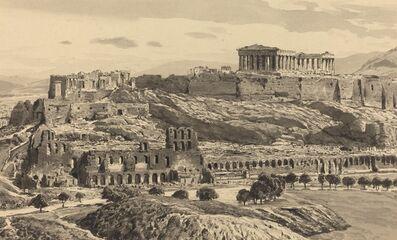 Themistocles von Eckenbrecher, 'View of the Acropolis', 1890