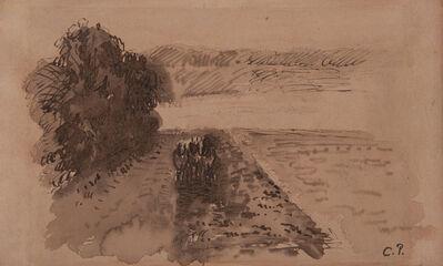 Camille Pissarro, 'Terrains labourés près d'Osny', ca. 1873