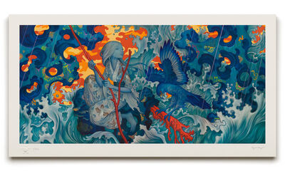 James Jean, 'Adrift', 2015