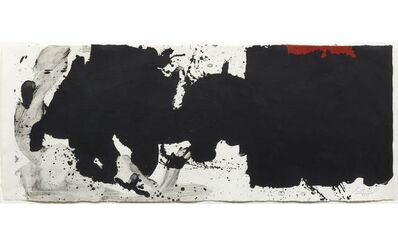 Robert Motherwell, 'Black with no way out', 1983