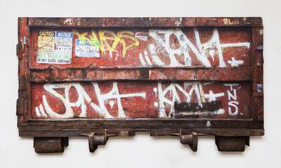 Dan Witz, 'Container Davenport IA', 2016