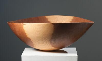 Anthony Bryant, 'Large Brown Oak Bowl ', 2000