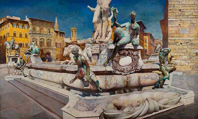 Rudolf Häsler, 'Neptun Brunnen. Florenz', 1985
