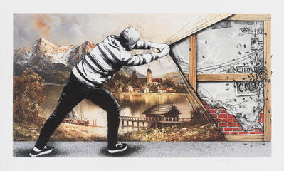 Martin Whatson, 'Behind The Curtain (The Wall)', 2018