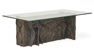 Paul Evans, 'Sculptured Metal dining table', 1969