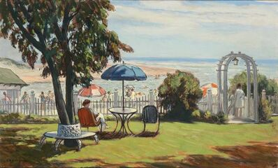 Clarence Kerr Chatterton, 'A Summer's Day - Ogunquit'