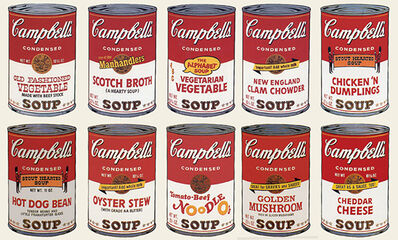 Andy Warhol, 'Campbell´s Soup II (Portfolio of 10)', 1969