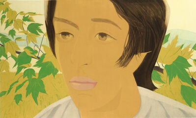 Alex Katz, '	Boy with Branch I', 1975