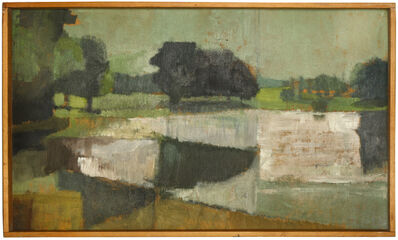 Bernard Myers, 'South London Park', Painted in 1950s.