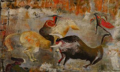 César Romero, 'Racing with Banderillas', 2007