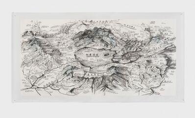 Qiu Zhijie, 'Map of Mithology', 2019