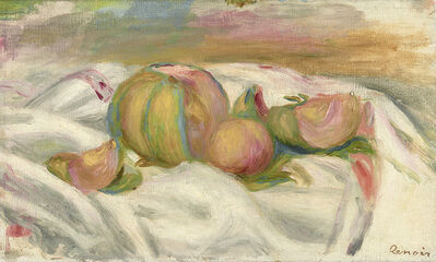 Pierre-Auguste Renoir, 'Nature Morte au Melon', ca. 1905