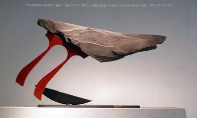 John Van Alstine, 'Stormwarning V (Red Rain 3.14)'