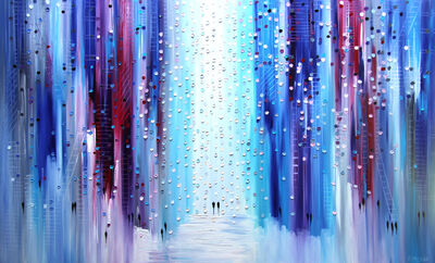Ekaterina Ermilkina, 'Blue Shadows', 2017