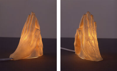 Janine Antoni, 'If I Die Before I Wake (Mother's Hand Meets Daughter's Hand in Prayer)', 2004