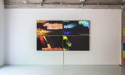 Daniel Canogar, 'Rafagas', 2017