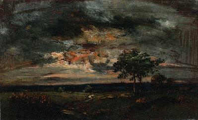 Théodore Rousseau, 'Paysage au Crépuscule (Landscape at Twilight)', ca. 1850