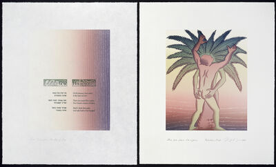 Judy Chicago, 'Voices from the Song of Songs: There you stand like a palm', 1998
