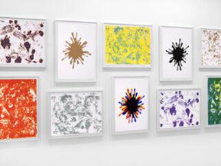 John M. Armleder, 'Spirale Blanche portfolio of 10 lithographs', 2008