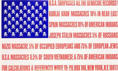 George Maciunas, 'U.S.A. Surpasses All the Genocide Records', ca. 1966