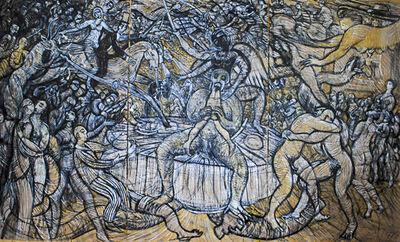Franz Roth, 'Der Menschenfresser ', 2012