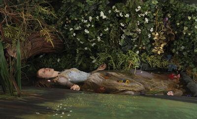 Adad Hannah, 'Blackwater Ophelia', 2013