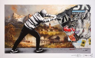 Martin Whatson, 'Behind The Curtain Collab - Decay', 2018