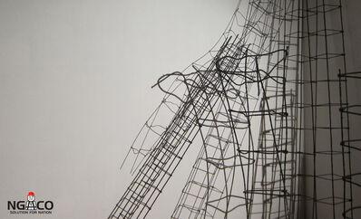 Aditya Novali, 'Column Frame'