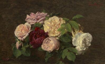 Henri Fantin-Latour, '_Roses de Nice_ on a Table', 1882