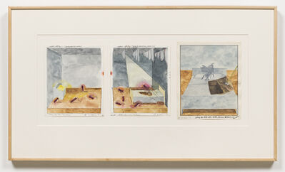 Terry Allen, 'Juke Box, Bed, Dresser (The Paradise)', 1975