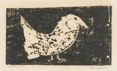 Milton Avery, 'Strange Bird (Lunn 45)', 1953
