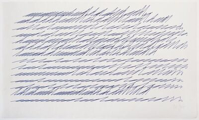 Vera Molnar, 'Lettres de Ma Mere', 1987