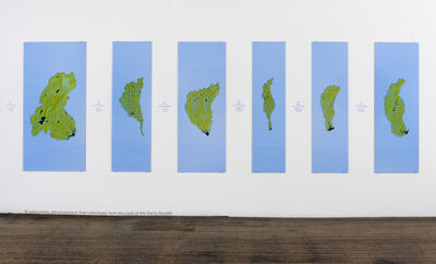 Newton Harrison & Helen Mayer Harrison, 'Sixteen Watersheds', 2011
