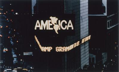 Alfredo Jaar, 'A Logo for America', 1987-1995