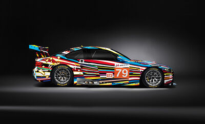 Jeff Koons, '1:18 Minichamps BMW M3 GT2 ART Car', 2012