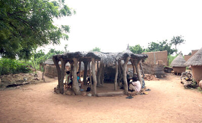 Kéré Architecture, 'Village Elders in Burkina Faso', 2012