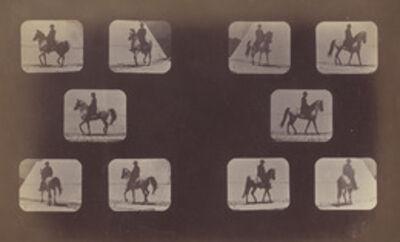 Eadweard Muybridge, 'Illustrations of the Paces Walking, Plate LX', 1878-1879